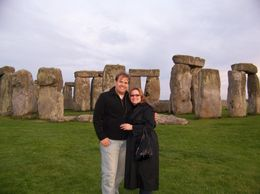 My wife and Elizabeth and I alone with Stonehenge. Taking a picture with just you and the monument are very possible on this tour., Herbert K - August 2008