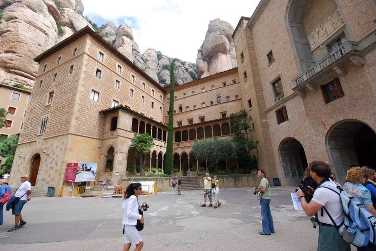 Montserrat's Monestary and Library - Barcelona