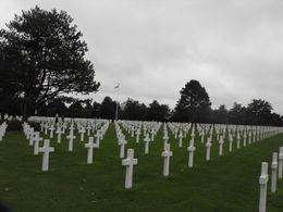 American Cemetery Omaha Beach , Betsy B - October 2012