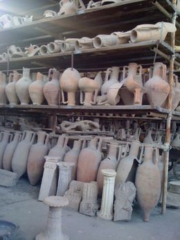 Ancient artefacts. So preserved hardly looks real. but they are., Dana M - April 2010