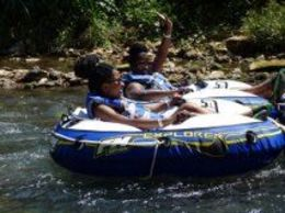 My bestie and I cruising down the river! We had a ball! , Parris M - April 2014