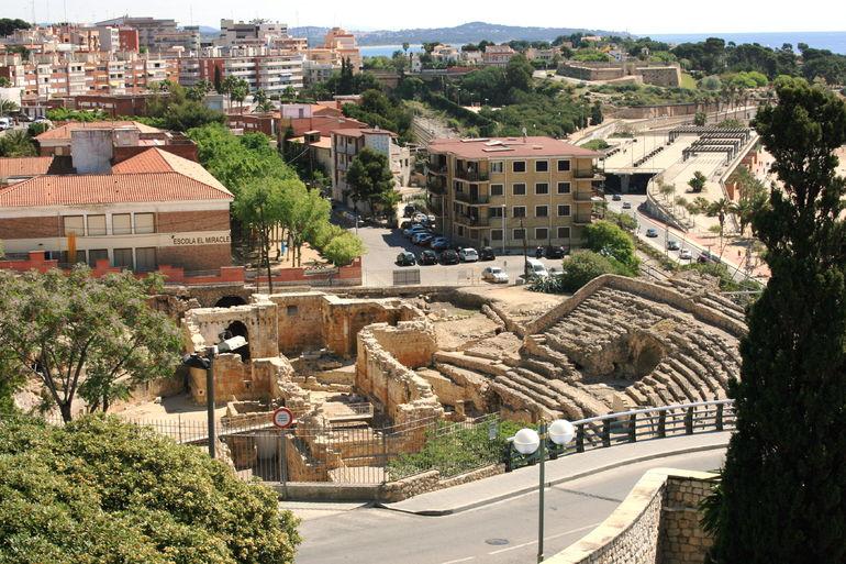 Ruins in Tarragona - Barcelona