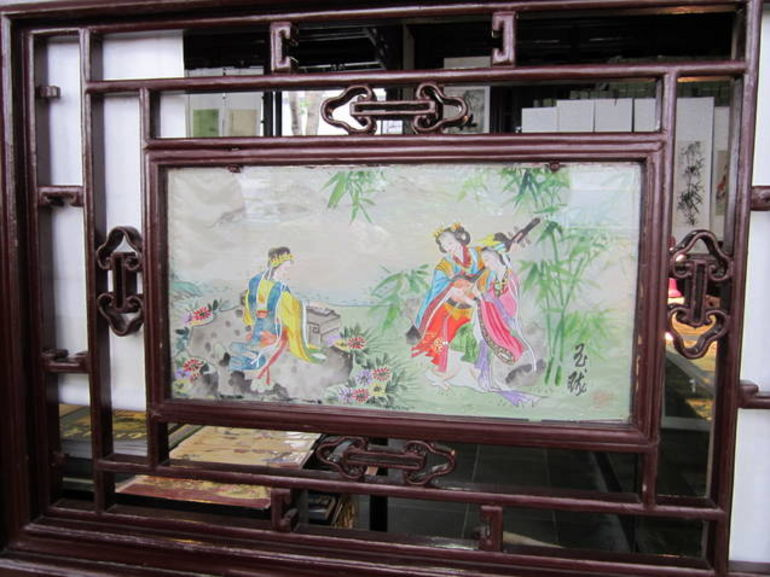 Silk Painting - Shanghai