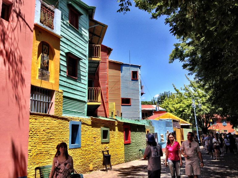 Some Houses in La Boca - Buenos Aires