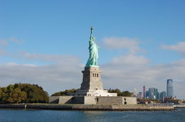 Great views of Liberty from the ferry boat. , Robert K - October 2015