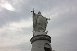 Statue of the Virgin Mary on top of San Cristobal Hill., Bandit - October 2013