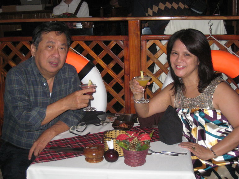 Dinner on the Saigon River: The Toast - Ho Chi Minh City
