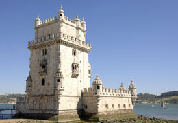 Tower of Belem in Portugal - November 2011
