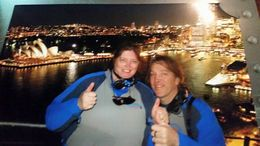 Cheryl and Michael ticking of our bucket list. , Cheryl R - September 2015