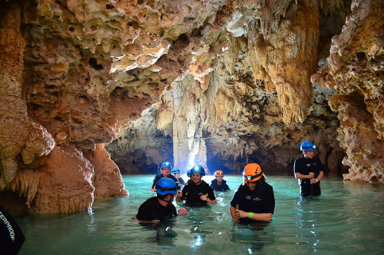 Rio Secreto Underground River Tour with Crystal Caves photo 11