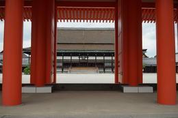 Kyoto Imperial palace , cywchar - July 2017