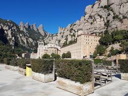 Monastery at Montserrat , Carmen G - August 2017