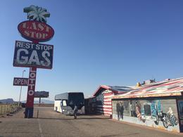 Last stop in Arizona , Barbara P - September 2017