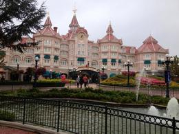 The enterance to Disneyland , Roshy - January 2018
