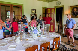 The tour focuses on the stories of the people who lived in the plantation. It was informative, intensely interesting, and extremely well delivered. This was a highlight of our trip to New Orleans. , Michael M - July 2016