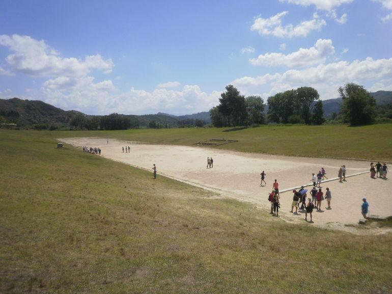Ancient Olympia stadium - Athens