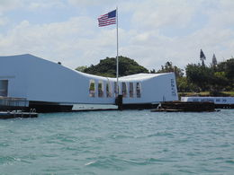 Visiting the Arizona Memorial at Pearl Harbor. , Charles C - June 2015