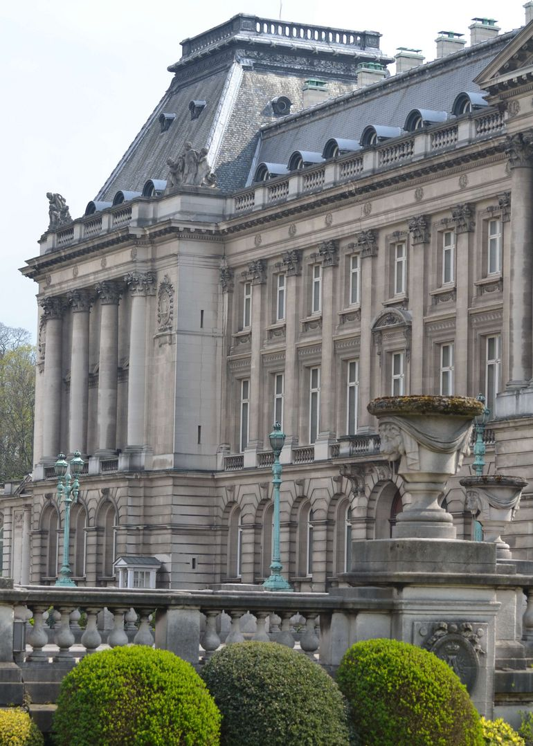 Brussels Royal Palace Side View - Brussels