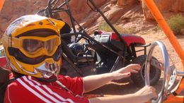 Me sharing the wheel!, David T - August 2008