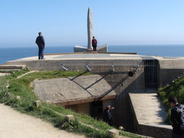 A German Bunker And A Monument , Richard P - June 2012