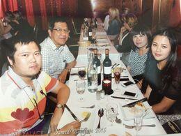 My daughter, Janice, Son, Gabriel, Husband Wee Thian Seong and myself Linda Chang , Boi Kui C - June 2015