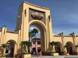Entrée de Universal Studio , JulsParis - May 2015