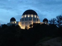 Griffith Observatory @ sunset , Tamar R - April 2016