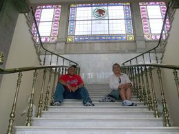 Pure marble steps and brass railings! , Nathan O - August 2015