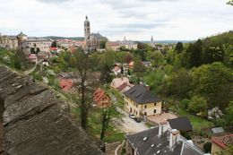 Kutna Hora town seen from the Basilica, Hendrik H - May 2009