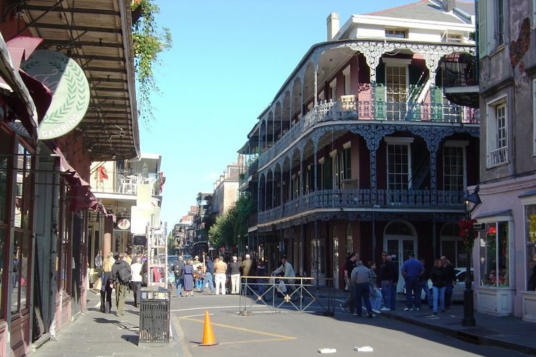 New Orleans - Bourbon St. - New Orleans