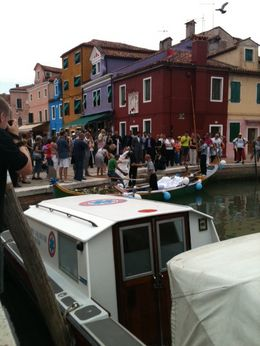 We even saw a Wedding with Gondola transport! , Jayne M - June 2012