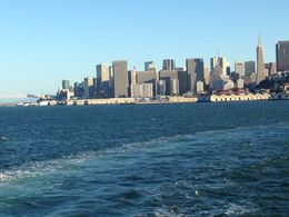 view of the skyline from the boat! , Donna M - July 2015