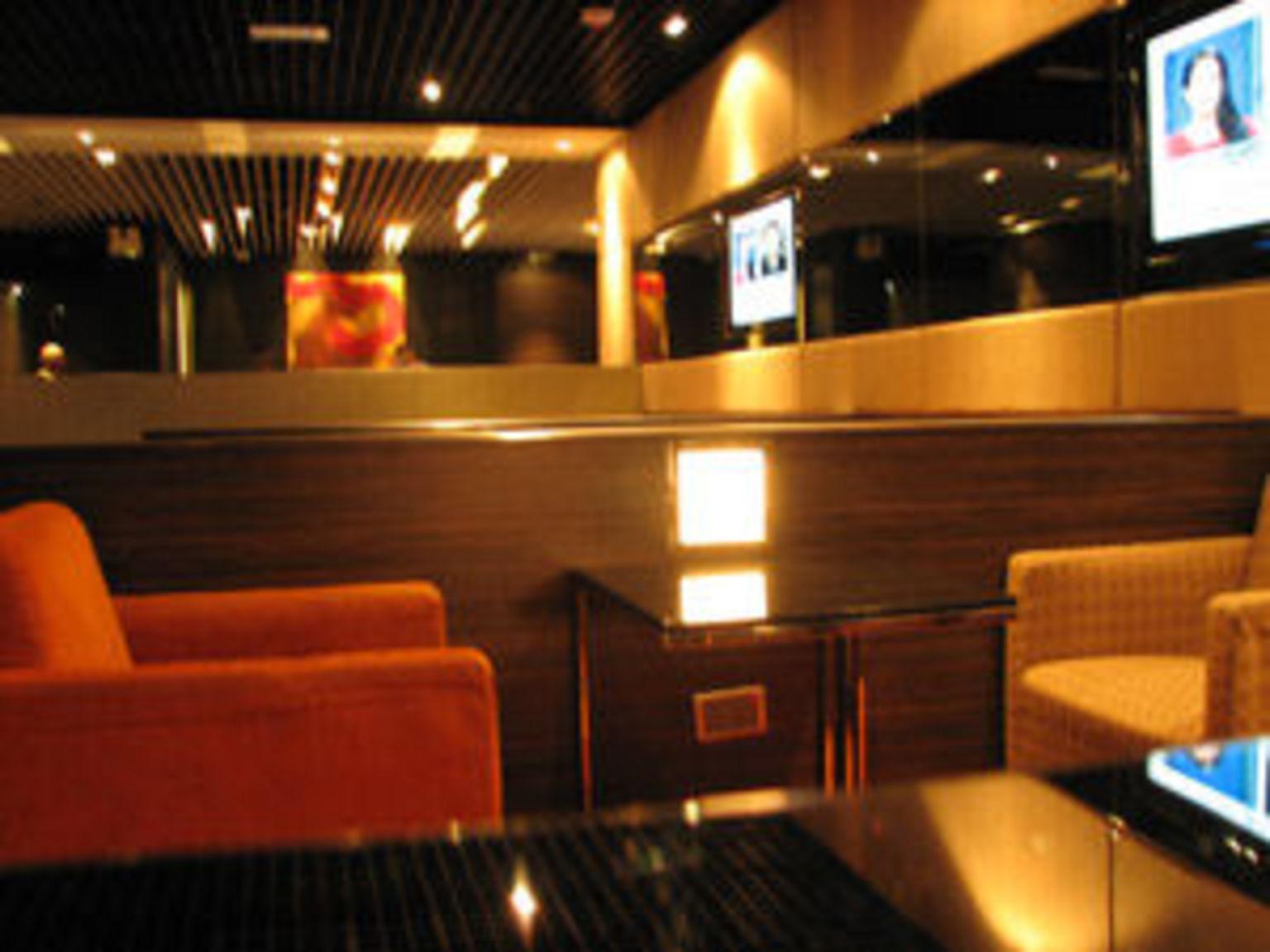 MÁS FOTOS, Sala VIP del aeropuerto internacional de Hong Kong.