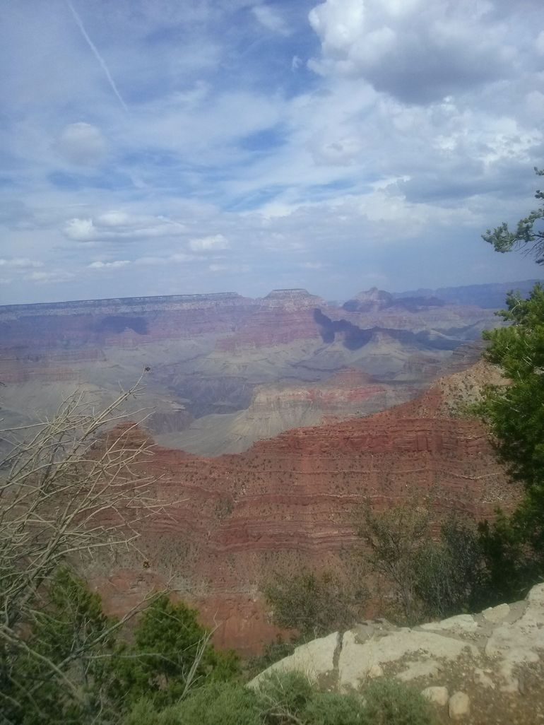 South rim of the Grand Canyon - Las Vegas