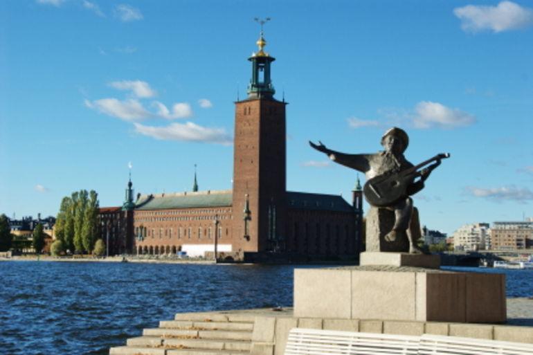 Statue in Stockholm - Stockholm