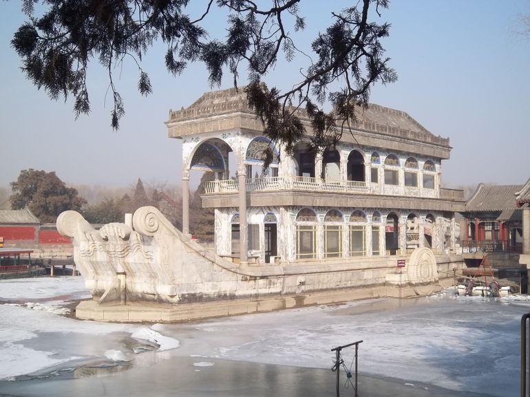 Marble Boat, Summer Palace - Beijing