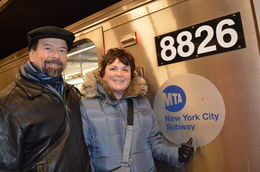 Our first subway ride. , John C - January 2013