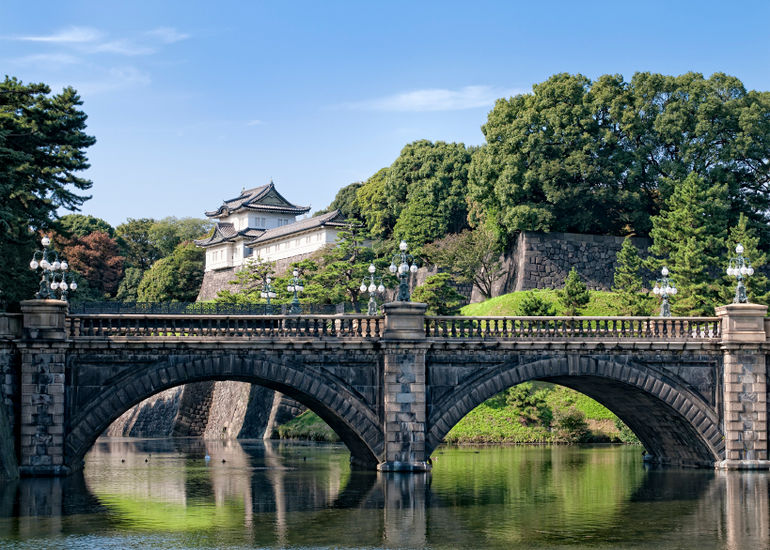 The Imperial Palace in Central Tokyo - Tokyo