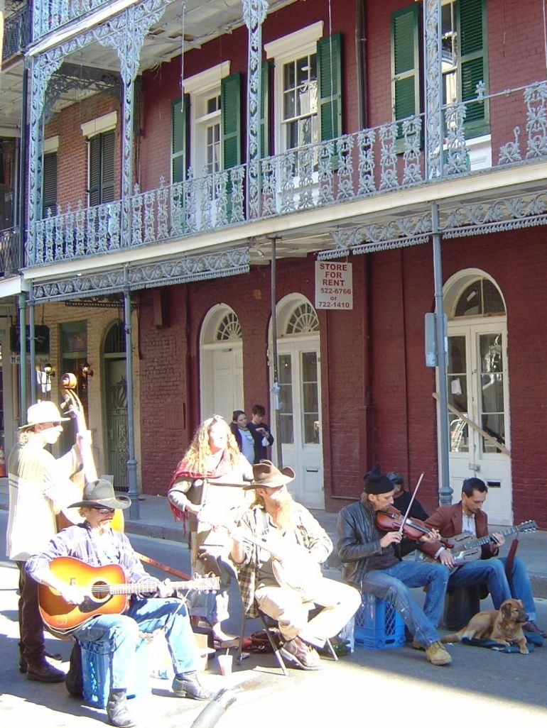 Band on Bourbon - New Orleans