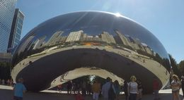 You have to stop at Millennium park, visit the Bean, explore the art in the park and then have lunch/dinner on Michigan Ave, plenty of restaurants right across the street. , Sanban K - August 2016