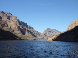Taken on the pontoon boat while riding down the Colorado River , Nana - November 2012