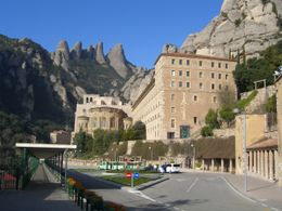 View from outside and below Montserrat. , DaNeener - April 2011