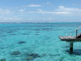 Moorea and the endless blue sea!, LC - October 2010