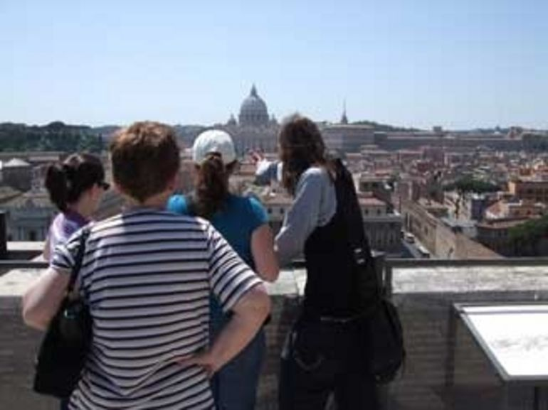 Explaining the views - Rome