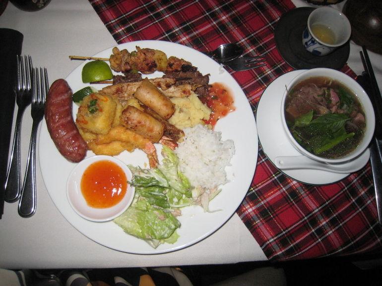 Food, food, food - Ho Chi Minh City