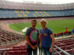 Touring Camp Nou , Jimmy M - July 2016