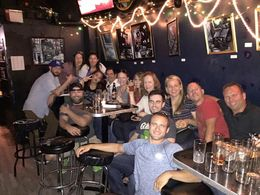 The fun continues at Delilah's - last stop on our great afternoon Beer Tour! , Brenda K - September 2015