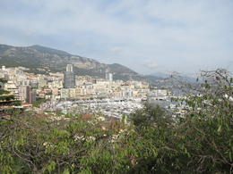 View of Monaco from the Palais Princier , Nancy B - October 2014