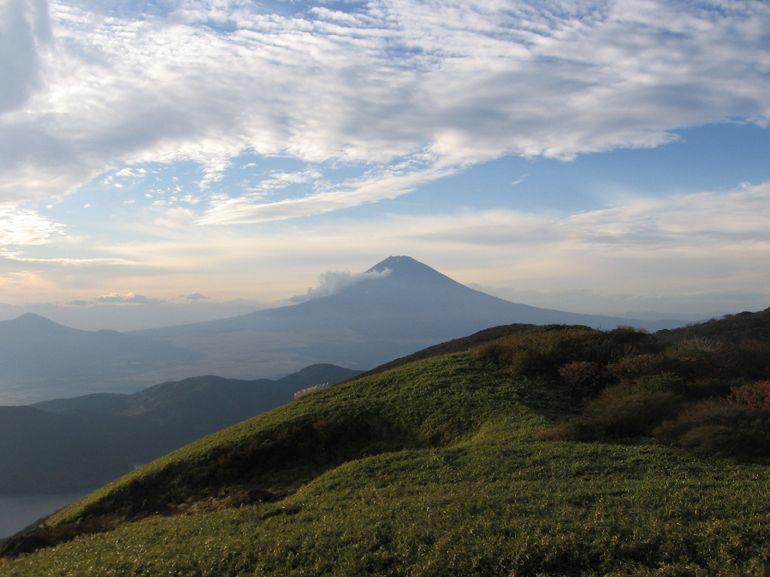 Mt Fuji at Hakone Mt Komagatake - Tokyo