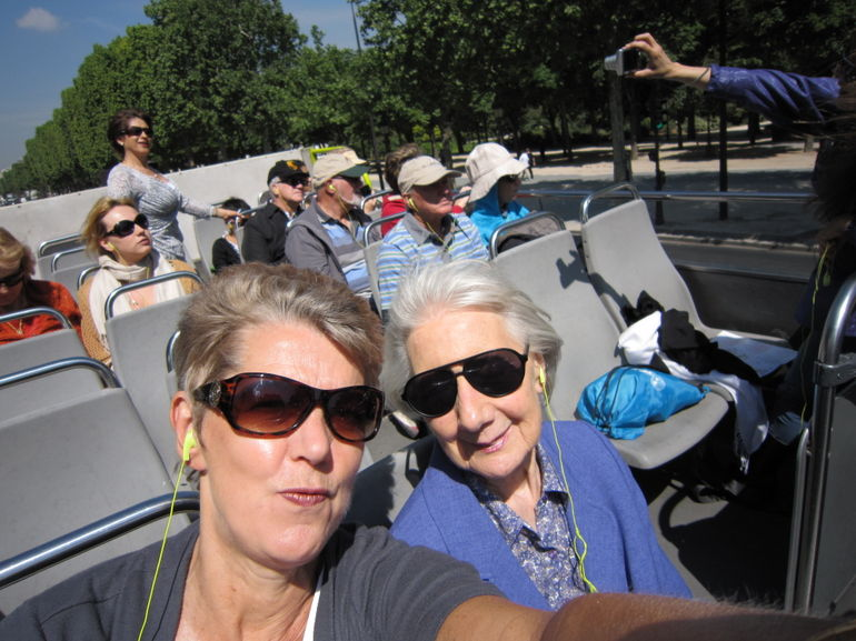 Open top bus - Paris